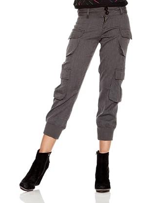 Desigual Pantalón Larralde (Gris Medio)