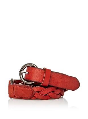 Sándalo Cinturón Arandela (Rojo)
