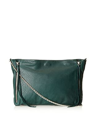 Posse Women's Cruz Cross-Body with Zippers, Pine