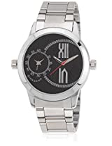 Dtmm60073 Silver/Black Analog Watch