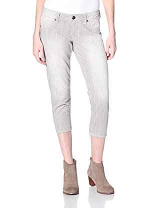 Stitch's Women's Crop Skinny Jeans (Snow)