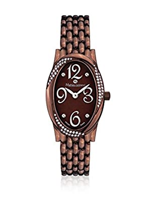 Mathieu Legrand Reloj de cuarzo Woman Marrón 23 mm