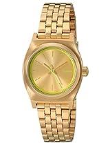 Nixon Women's A3991618 Small Time Teller Watch