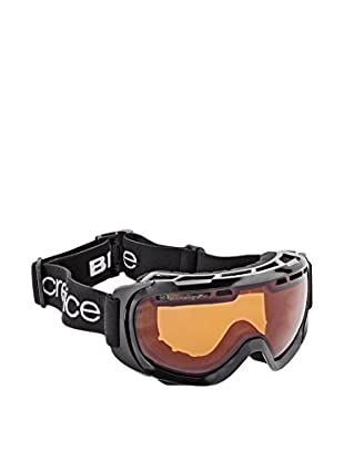 Black Crevice Skibrille  schwarz/orange