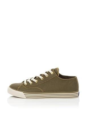 PRO-Keds Men's 69er Lo Twill Sneaker (Olive)