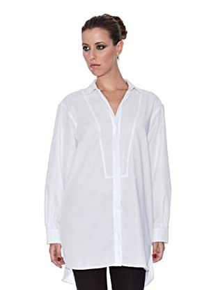 Caramelo Camisa Canesú (blanco)