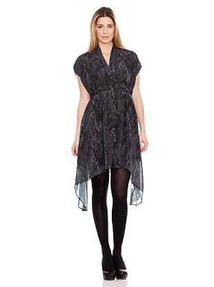 Calvin Klein Jeans Vestido Estampado (Gris Oscuro)