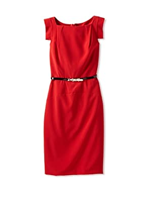 Single Women's The Victoria Dress (Red)