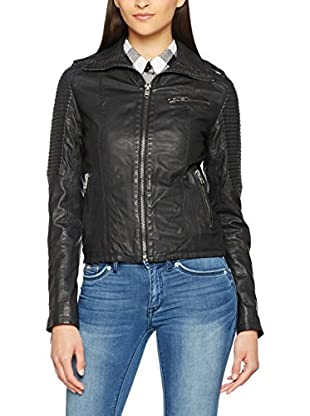 Superdry Lederjacke Halo Tall
