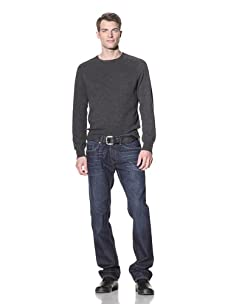 William Rast Men's Jackson Slim Straight Jean (Dark Sea)