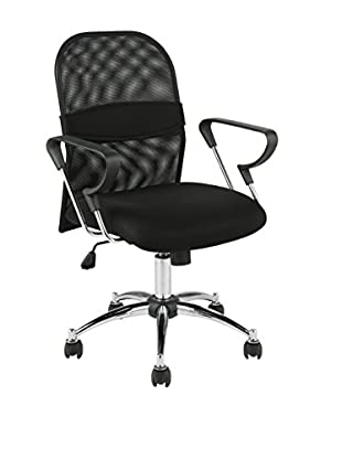Euro Style Marlin Mesh Office Chair, Black