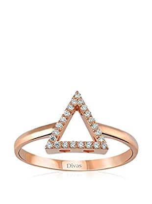 Divas Diamond Ring White Topaz