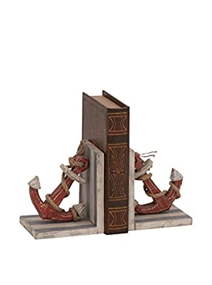 Anchor Bookends with Rope Detail