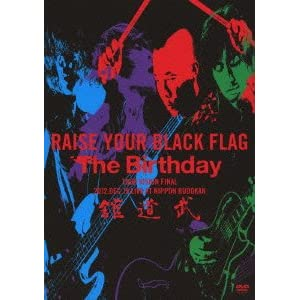 RAISE YOUR BLACK FLAG The Birthday TOUR VISION FINAL 2012. DEC. 19 LIVE AT NIPPON BUDOKAN(初回盤) [DVD]
