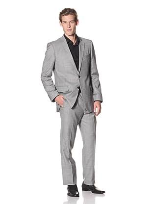 Joseph Abboud Men's Hudson Fit 2-Button Suit (Steel Grey)