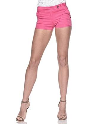 Crema Short Básico Stretch (Rosa)