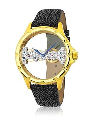 Reichenbach Uhr mit Handaufzug Woman Detjens schwarz 40 mm
