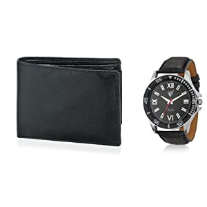 Rico Sordi Combo Of Men Wallet And Watch RSD5 WW