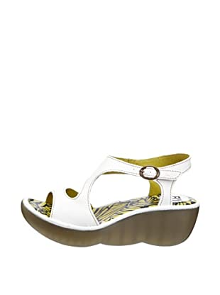 Fly London Sandalias Gilchrist (Blanco)
