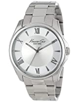 Kenneth Cole Analog Silver Dial Men's Watch - KC9293