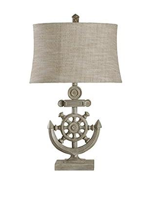 StyleCraft Nautical 1-Light Table Lamp, Bokava