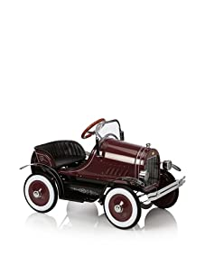 Dexton Deluxe Burgundy Roadster Pedal Car