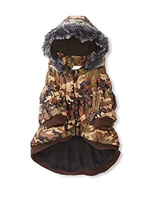 Pet Life Metallic Ski Parka Dog Coat