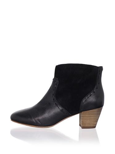 Modern Vintage Women's Delilah Ankle Boot (Black/black)