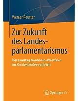 Zur Zukunft des Landesparlamentarismus: Der Landtag Nordrhein-Westfalen im Bundesländervergleich