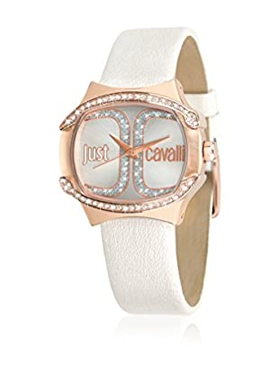 Just Cavalli Orologio al Quarzo Woman Born Bianco 34.5x35 mm