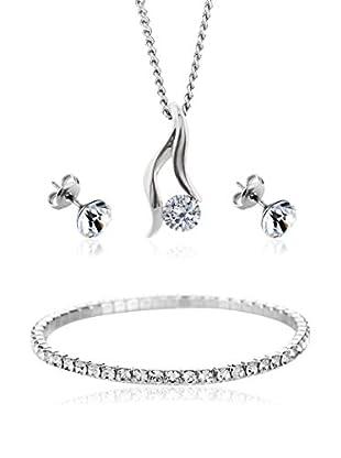 Diamond Style Set Kette, Anhänger, Armband und Ohrringe Adore Elizabeth