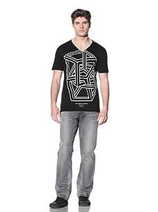 MG Black Label Men's Geo Graphic Tee (Onyx)
