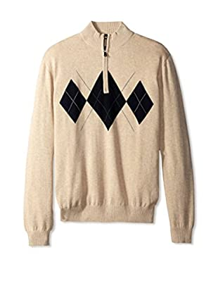 Cutter & Buck Men's Elgin Half Zip Sweater