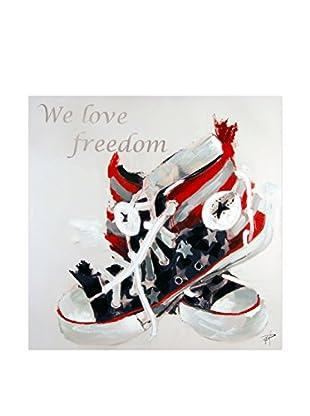 Arte dal Mondo  Wandbild Paolo Rossini Love Freedom