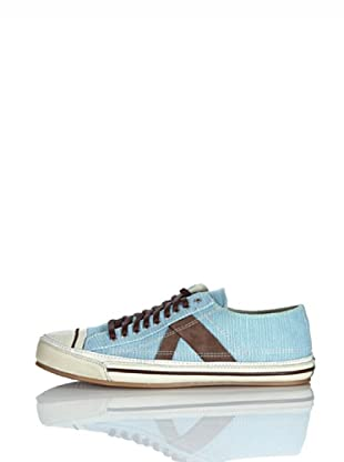 PF Flyers Sneakers Number 5 (Azzurro/Marrone)