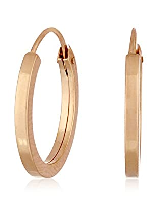 GOLD & DIAMONDS Pendientes  oro rosa 18 ct