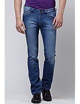 Blue Slim Fit Jeans Wrangler