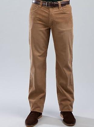 Cortefiel Pantalón Pana (marrón)