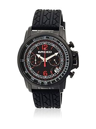 Breed Reloj con movimiento cuarzo japonés Brd5403 Negro 44  mm