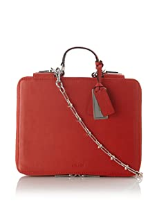 Gryson Women's Emma iPad Case with Chain Strap (Red)