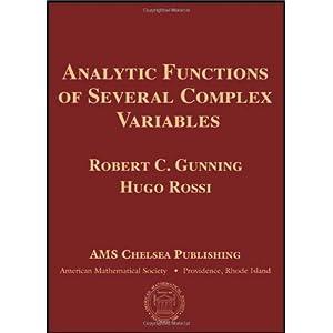 【クリックでお店のこの商品のページへ】Analytic Functions of Several Complex Variables (Ams Chelsea Publishing) [ハードカバー]
