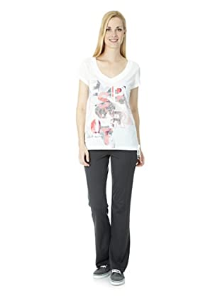 ESPRIT SPORTS Damen Wellnessoberteil (Weiß)