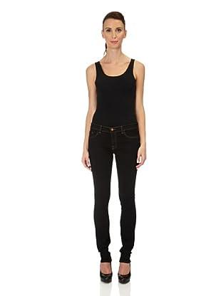 J Brand Jeans Low Rise Skinny (Black)