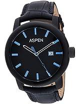 Aspen Analog Black Dial Men's Watch - AM0057
