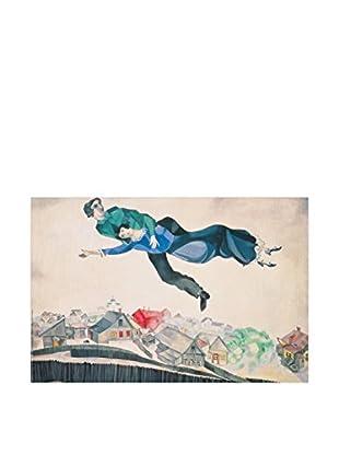 Artopweb Panel Decorativo Chagall Sulla Città