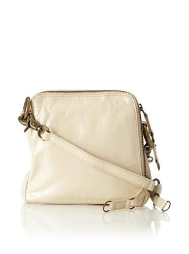 Latico Women's Beulah Triple-Compartment Convertible Shoulder Bag (Parchment)