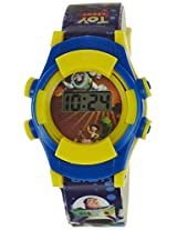 Disney Digital Multi-Color Dial Boys's Watch - TP-1108 (Blue)