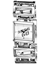 Miss Sixty Analog White Dial Women's Watch - SN9002
