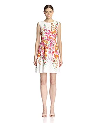 Sandra Darren Women's Lace Fit and Flare Dress