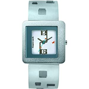 Fastrack NC2356SM01 Women's Wrist Watch-White